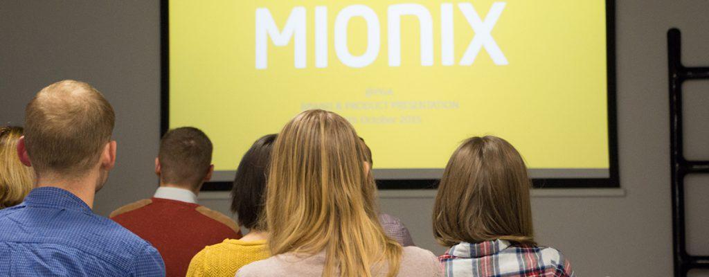 konferencja prasowa dla Mionix
