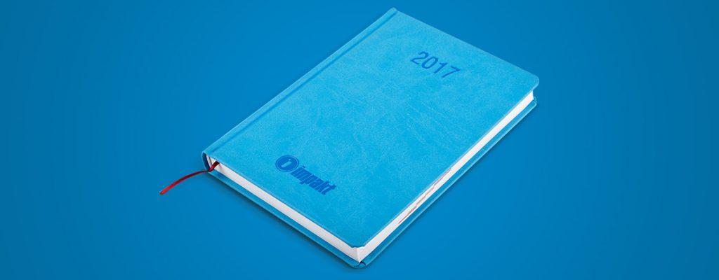 gadżety reklamowe - kalendarz impakt