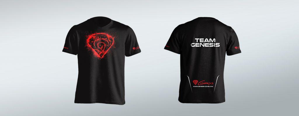 Tekstylia z nadrukiem - koszulki z nadrukiem Genesis