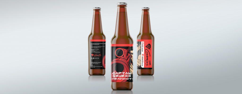 Projektowanie opakowań - piwo genesis