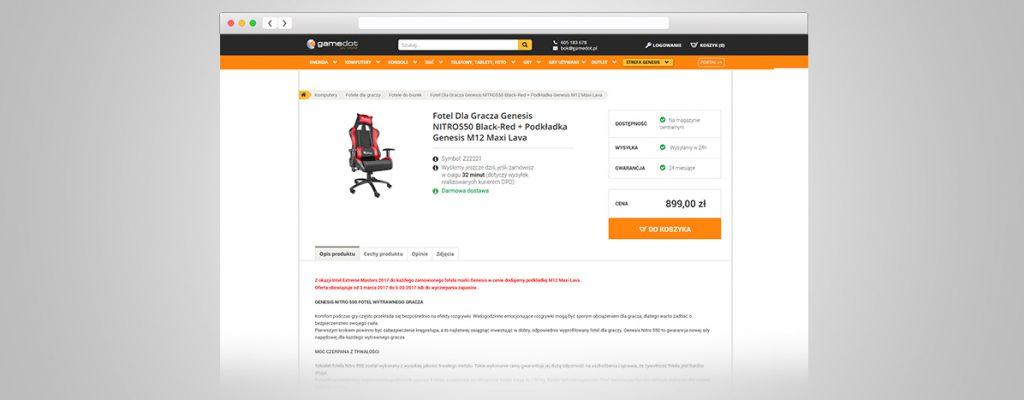 tworzenie stron internetowych - gamedot.pl