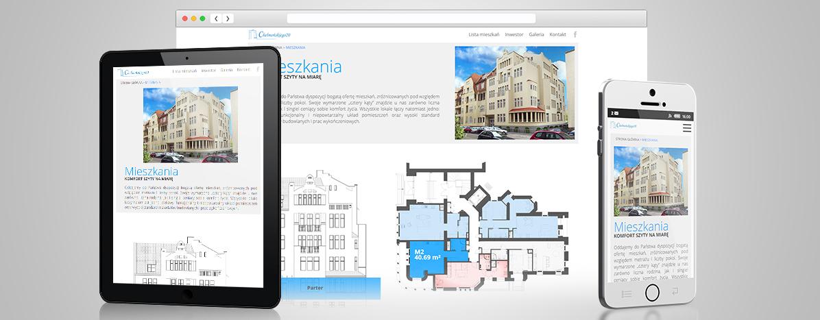 tworzenie stron internetowych - chełmońskiego20.pl