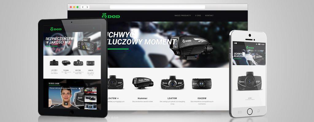 tworzenie stron internetowych - wideorejestratory-dod.pl