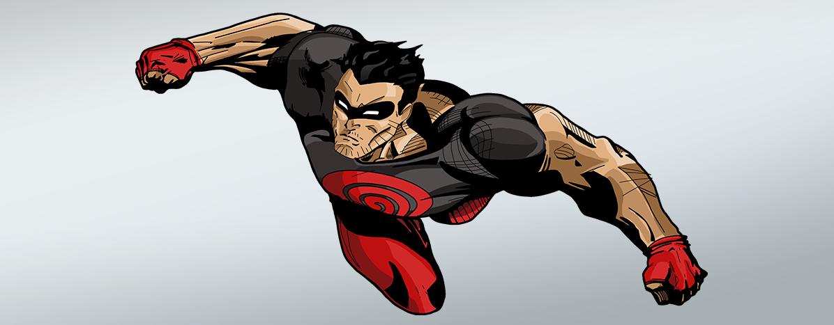 Projektowanie graficzne - Rysunek - kapitan genesis1