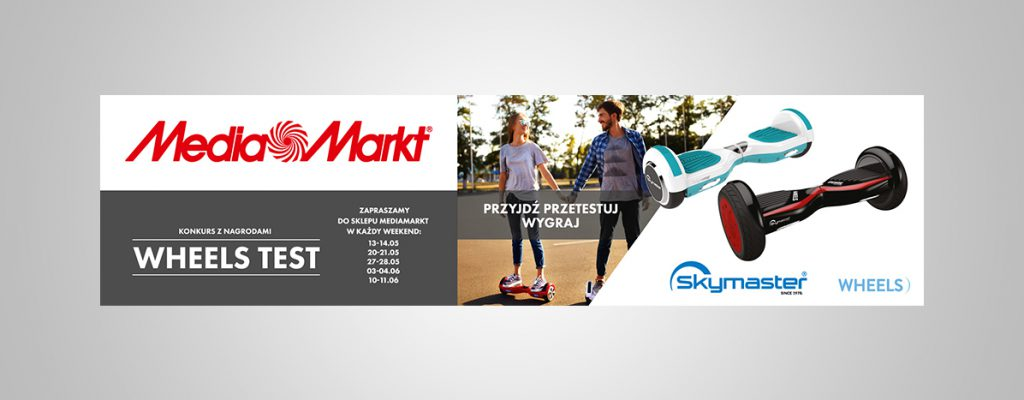 Grafika reklamwoa Media markt Rollerboard 2