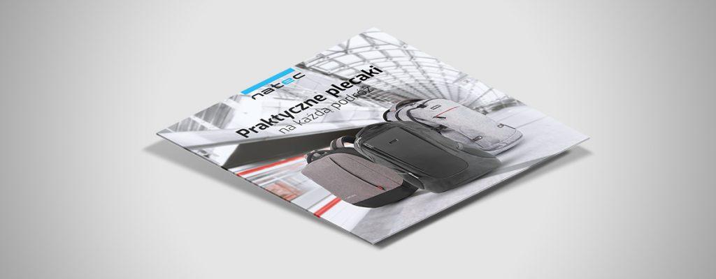 Projekty grafik reklamowych dla marki Natec4